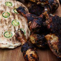 Jerk Chicken & Jalapeno Flatbread!    Scrapbook for Jamie's Summer Food Rave Up from Channel 4