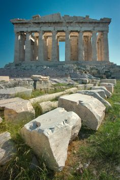 [the Parthenon with other ruins - Athens - Greece] ...