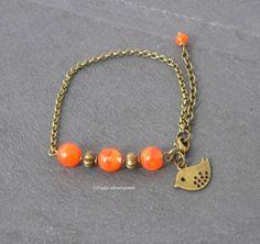 Armband Vogel von Happy-about- Pearls auf DaWanda.com