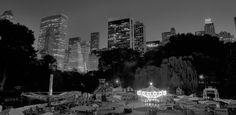 Night View at Victorian Gardens
