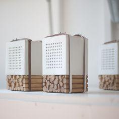 Natural Speakers enceintes céramique et bois
