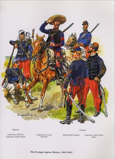 Foreign Legion Mexican Adventure 1863-67