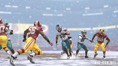 Taken from Madden 15 on the Xbox One, showing the Washington Redskins vs. Philadelphia Eagles.