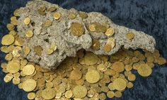 Salvage team discovers 300 gold coins in area where three galleons were sunk 300 years ago