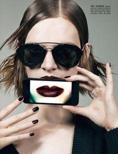 Sam Rollinson & Ashleigh Good by Craig McDean for Vogue Italia September 2013 12