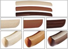 Différents types de Tanto en bois
