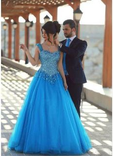 Sexy 2017Sleeveless Long Crystals Beading  Sweetheart A-line Gorgeous Evening Dress Long Prom Gowns Robe De Soiree Sirene UM3001