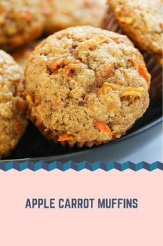 How to Bake Muffins Cranberry Recipes, Carrot Recipes, Baby Food Recipes, Baking Recipes, Sweet Recipes, Dessert Recipes, Desserts, Oatmeal Blueberry Muffins Healthy, Healthy Carrot Muffins