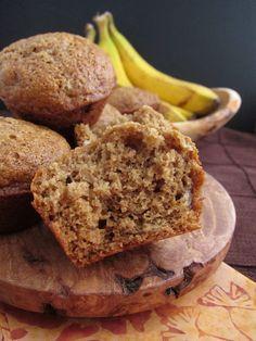 Arctic Garden Studio: Banana Barley Flour Muffins