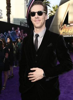 Benedict Cumberbatch attends the premiere of Disney and Marvel's 'Avengers: Infinity War' on April 23, 2018 in Los Angeles, California.
