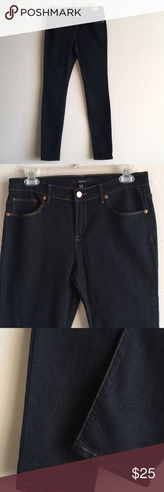 "NWT Extra Long High Rise F21 Stretchy Skinny Jeans A pair of stretch dark wash denim skinny jeans featuring a 9"" rise high waist, classic 5 pocket design and a zip fly closure. A longer length inseam 32"" Forever 21 Jeans Skinny"