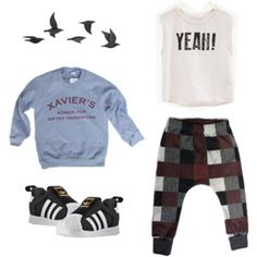 Set 1 Fall Capsule Wardrobe, Sweatpants, Boys, Polyvore, Fashion, Baby Boys, Moda, La Mode, Sweat Pants