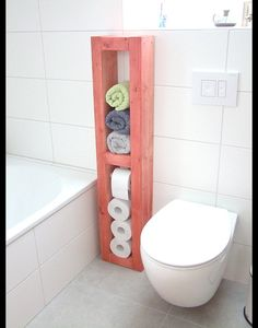 """**Toilettenpapierhalter, Handtuchhalter, Mehrzweckhalter, H/B/T 125x25x14cm, Massivholz natur! 21 Lasuren nach Wahl gegen Aufpreis EUR 20,-  N E U: Die Rolle hällt nun """"unsichtbar"""" mittels..."""