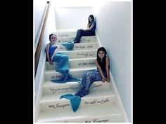 Crochet Mermaid Tail Easy Tutorial - YouTube Crochet Videos, Baby Blanket Crochet, Crochet Blankets, Crochet Designs, Crochet Patterns, Knitting Patterns, Kids Crochet, Simple Crochet, Crochet Bebe
