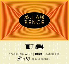 M. Lawrence Sparkling Wine - US
