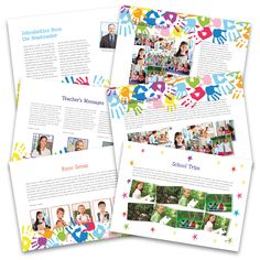 Check out our gorgeous new Landscape Templates!! A clean and fresh approach to your Yearbook. Bound on the long edge of the Yearbook. Easy to hold and flip the pages. Available in Hardback, Perfect Bound and Stapled version. A4 size, no extra costs and no minimum order.