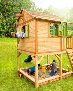 Juegos de madera aire libre