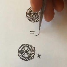 Simple Mehndi Designs Fingers, Pretty Henna Designs, Henna Tattoo Designs Simple, Mehndi Designs Feet, Mehndi Designs For Kids, Latest Henna Designs, Mehndi Designs Book, Full Hand Mehndi Designs, Mehndi Designs For Beginners
