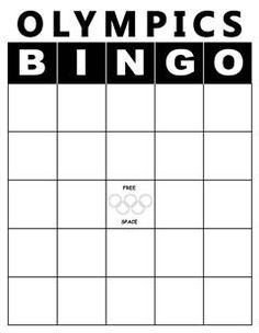 Here's a fun spin on the classic Bingo game! With the Olympics being so popular right now, your kids will have fun learning about the different sports for both the summer and winter Olympics. This game is super easy and can be modified for any subject that you might want your kids to learn more about