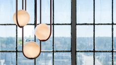 """Matthew McCormick's Mila pendant lights are """"a study of reductionism"""""""