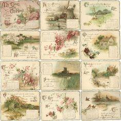 Коллекция картинок: Винтажные картинки, теги, этикетки и фоны из коллекции fljuida