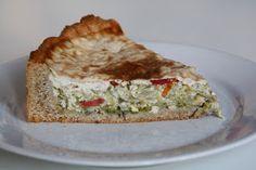 Vegan Cuisine | Vegane Rezepte: Lauch-Tomaten-Quiche