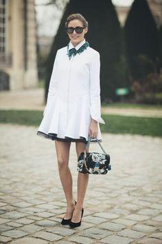 {style inspiration : olivia palermo at fashion week 2014}