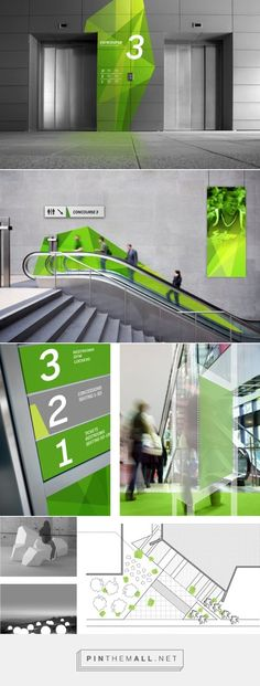USF Wayfinding on Behance