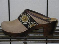 winners choice of one pair of handmade clogs