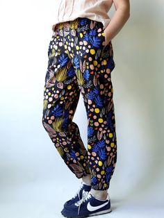 Leah Duncan Yucca Voile Luna Pants pattern by MadeByRae