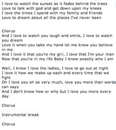 Who am I by Wade Bowen -Mine & Sam's Song :)