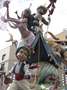 falla Nazaret,Valencia Valencia, Joseph, Carnival Fashion, Parade Floats, Festivals Around The World, Character Modeling, Figure Model, Sculpture, Reference Images