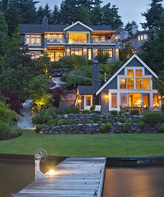4102 100th Avenue SE, Mercer Island, WA 98040 #waterfrontestate #waterfrontdreamhome