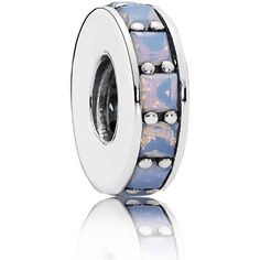 Eternity Spacer Opalescent White Crystal