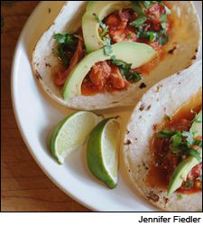 Dining Tip: Chicken Tacos in Chipotle Sauce | Dining Tips | News & Features | Wine Spectator