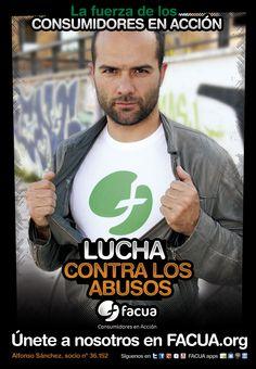 Alfonso Sánchez, socio de FACUA nº 36.080, llama a los consumidores a la lucha contra los abusos