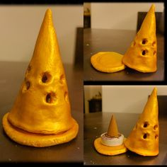 Insense cone holder made using air dry clay