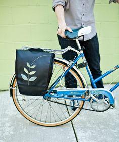 Pannier Bike Bag - 'Sprout'