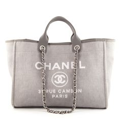 Image result for Chanel Deauville Tote Bag Canvas