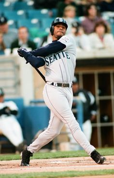 Ken Griffey Jr. was my favorite player growing up. I still think he has the most beautiful swing of all time