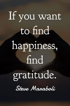30 Gratitude Quotes That Will Brighten Your Day - If you want to find happiness, find gratitude - Gratitude Quotes, Attitude Of Gratitude, Positive Quotes, Gratitude Jar, Positive Psychology, Daily Quotes, Best Quotes, Life Quotes, Oprah Quotes