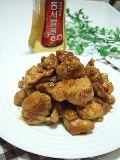 마니아 컬럼(요리) > 별미,술안주-꿀간장소스 닭구이