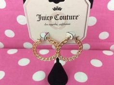 NEW-JUICY-COUTURE-LOS-ANGELES-CALIFORNIA-EARRINGS-choose-your-stylish-pair-NWT