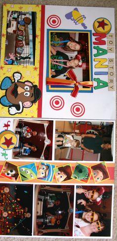 Toy Story Mania - Scrapbook.com