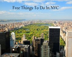 20 Free Things To Do In NYC (AUGUST)