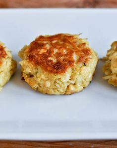 Simple, Light Crab Cakes | How Sweet It Is