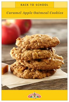 With caramel and apple, these chewy, fall oatmeal cookies will pass your kids' test with flying colors. Tuck one into a lunchbox for a sweet treat. It's back-to-school time, but don't worry: You've got this.