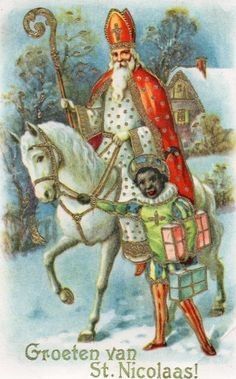 Old Christmas Post Сards — Christmas Showing Father Christmas as St Nicholas and with A Helper Christmas Shows, Christmas Post, Father Christmas, Retro Christmas, Vintage Christmas Cards, Winter Christmas, Holiday Cards, Xmas, Vintage Postcards
