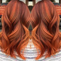 A look at the pumpkin spice hair trend taking Instagram by storm.