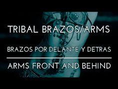 EJERCICIOS DE BRAZOS DE TRIBAL. BRAZOS CRUZADOS. DANZA DEL VIENTRE. DANZA TRIBAL FUSIÓN. - YouTube